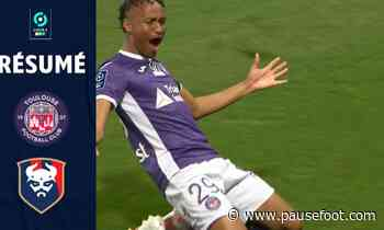 TOULOUSE FC – STADE MALHERBE CAEN (3 – 0) – Résumé – (TFC – SMC) / 2020-2021 - Pause Foot