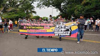 Campesinos del Sur de Bolívar se unen a protestas en Barrancabermeja - El Tiempo