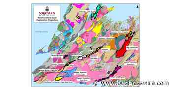 Sokoman and Benton Jointly Acquire Grey River Gold Project in Southern Newfoundland - Business Wire