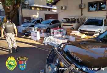 PM desarticula quadrilha que furtava agrotóxicos em Marialva - CBN Maringá