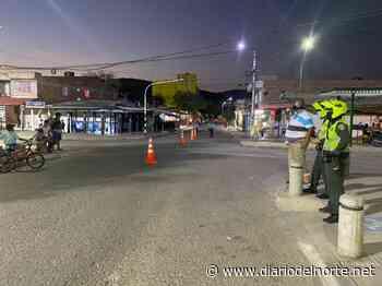 Tránsito municipal continúa con los controles a la movilidad de Albania - Diario del Norte.net