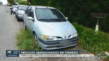 Vinhedo obriga proprietários a removerem carros abandonados em ruas e prevê multa de R$ 8,5 mil - G1