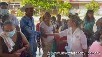 En Corozal le apuestan al proyecto de Nadya Aradillas - La Voz De Tantoyuca