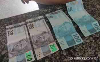 Bom Jesus do Itabapoana: Jovem faz compras com possíveis notas falsas e é detida - Jornal O Dia