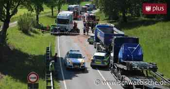 Tödlicher Verkehrsunfall auf B30 bei Bad Waldsee - Schwäbische