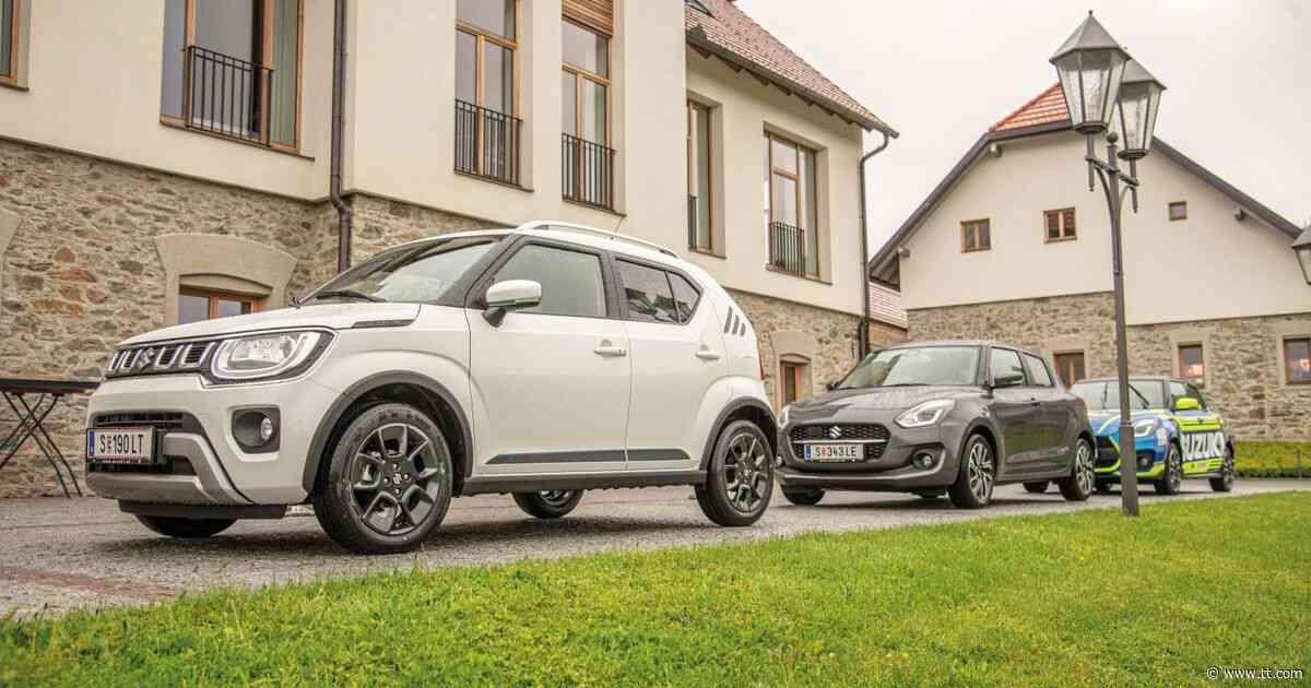 Jimny, Ignis, Swift: Suzuki bleibt am Puls der Zeit - Tiroler Tageszeitung Online