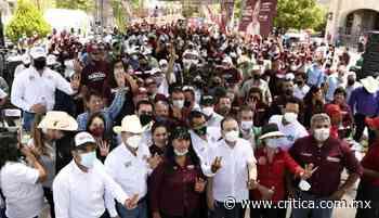 Durazo cierra con gran apoyo en Nacozari, Cananea y Agua Prieta - Critica