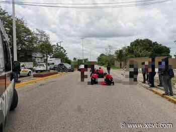 Muere motociclista tras ser impactado por un auto en la Villahermosa-Macuspana - XeVT 104.1 FM   Telereportaje