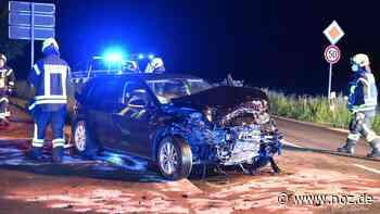 Männer im Krankenhaus: Autofahrer aus Voltlage und Bad Essen bei Unfall in Recke verletzt - noz.de - Neue Osnabrücker Zeitung