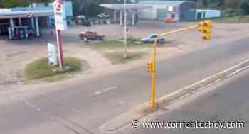 Instalaron semáforos en el acceso a San Luis del Palmar - CorrientesHoy.com