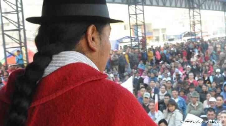 Leonidas Iza llama a una movilización para el 11 de junio, dos semanas antes del Congreso de la Conaie - El Comercio (Ecuador)