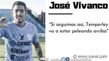 """José Vivanco: """"Se está viendo un Temperley con volumen de juego y confianza"""" - VAVEL.com"""