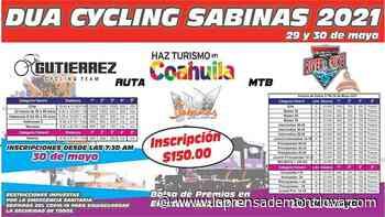 Sabinas será sede de evento ciclista – La Prensa de Monclova - La Prensa De Monclova