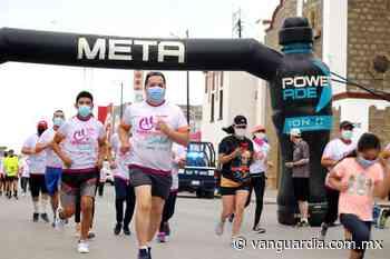 Carrera 5k con causa en Sabinas concluyó con éxito - Vanguardia.com.mx