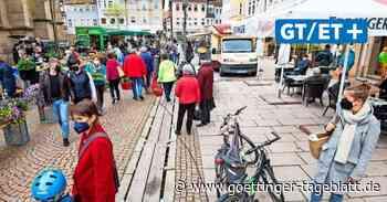 Duderstadt: Marktstände und Gastronomie müssen sich den Platz teilen - Göttinger Tageblatt