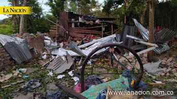 Dos heridos en Campoalegre tras explosión en una vivienda • La Nación - La Nación.com.co