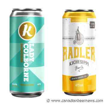 Kichesippi Beer Releases Lady Colborne Dampfbier and Grapefruit Radler - Canadian Beer News