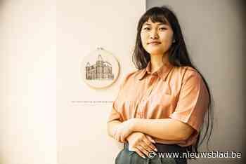 """Kunstexpo laatstejaars: """"De school naait mij, dus ik naai de school"""" - Het Nieuwsblad"""