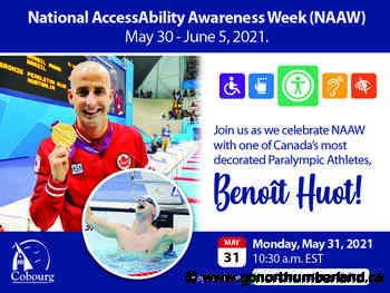 Paralympic Athlete Benot Huot to Speak in Cobourg - 93.3 myFM