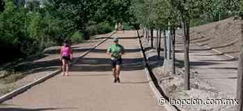 Acuden a ejercitarse al parque el encino - La Opcion