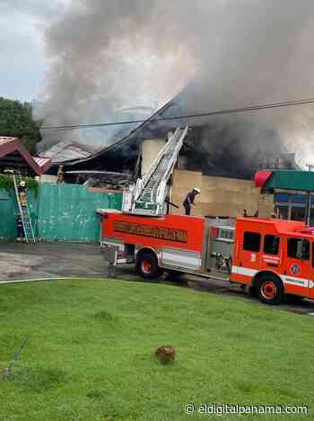 Bomberos sofocan incendio en Betania - El Digital Panamá