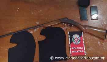 Homem é preso em Itaporanga por mandado de prisão e durante cumprimento outro suspeito também é detido - Diário do Sertão