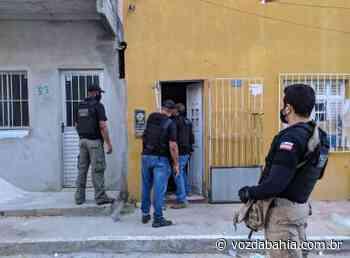 Acusado de tráfico e homicídio é preso em Senhor do Bonfim - Voz da Bahia