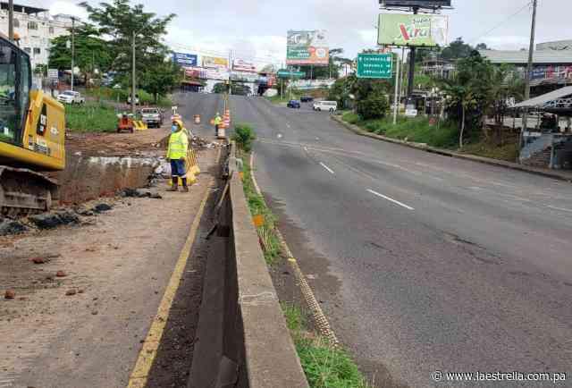 Sabonge: Mañana abrirán gradualmente el tráfico de la carretera Panamericana en Arraiján - La Estrella de Panamá