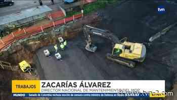 Avanzan en 75% los trabajos en Arraiján - TVN Panamá