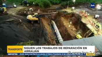 Vendedores ambulantes afectados por las reparaciones en Arraiján Cabecera - TVN Panamá