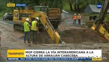 Cierran vía a la altura de Arraiján Cabecera - TVN Panamá