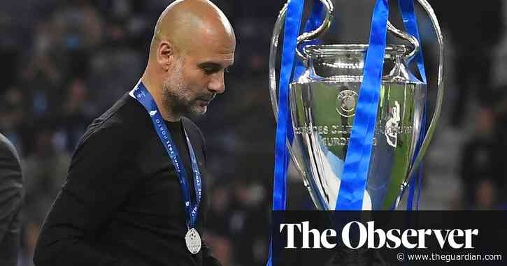 Chaotic conductor Pep Guardiola sees his Champions League dream fall apart   Barney Ronay