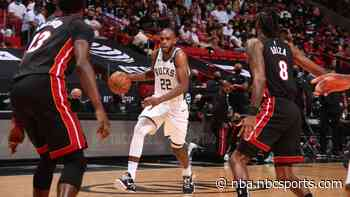 Bucks storm back in second half to sweep Heat out of playoffs