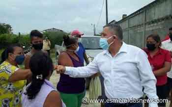 Alcalde anunció construcción de obras en el sector 'El Totoral' - Esmeraldas News