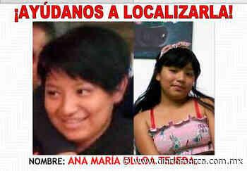 Buscan a Ana Ulloa - Diario Marca de Oaxaca