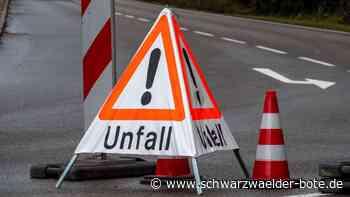 Unglück bei Altensteig - Motorradfahrer stirbt bei Unfall im Industriegebiet Turmfeld - Schwarzwälder Bote