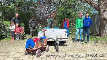 Altensteig (Württ.) - Ortschaftsrat Wart sammelt Müll - Schwarzwälder Bote