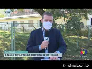 Itapiranga: Polícia Civil prende suspeito de homicídio - ND Mais