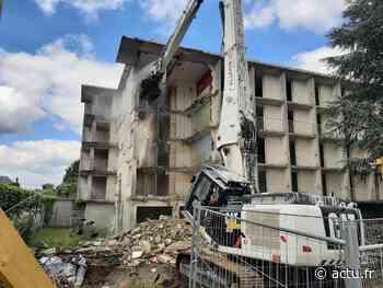 VIDÉO. La démolition de la Charmille à Nogent-le-Rotrou a commencé - actu.fr