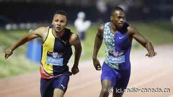 De Grasse et Brown sur le podium au 200 m de Doha - ICI.Radio-Canada.ca