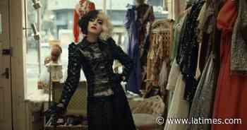 'Cruella' review: Emma Thompson out-devils Emma Stone - Los Angeles Times