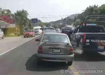 Bloquean por cinco horas carril de la federal Atlixco-Puebla - Municipios Puebla