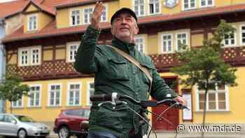 Fahrrad-Beauftragter von Arnstadt geht in den Ruhestand - MDR