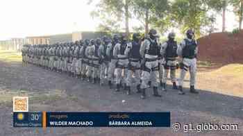 Policiais penais de Uberlândia e de Araguari passam por curso de alinhamento de procedimentos - G1
