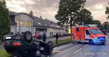 Auto kollidiert in Harsewinkel mit Anhänger und überschlägt sich - Neue Westfälische