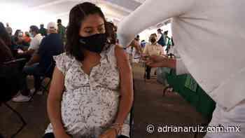 #Juarez   Este viernes 28 recibirán vacuna contra Covid embarazadas en Ciudad Juárez - Adriana Ruiz