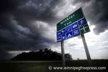 Oxygen demand pressures Winkler-Morden hospital - Winnipeg Free Press