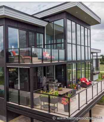 Glass House In Creemore with Million Dollar View - CollingwoodToday