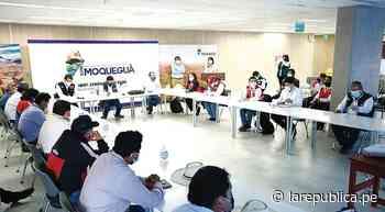 Mesa técnica para resolver reclamos de Moquegua - LaRepública.pe