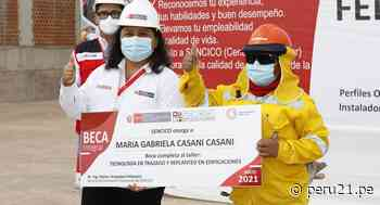 Moquegua: Primera mujer experta en fierrería recibe certificado - Diario Perú21
